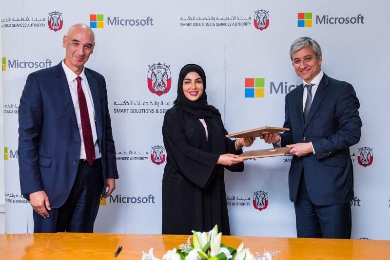 Abu Dhabi, cloud, Microsoft, ADSSSA