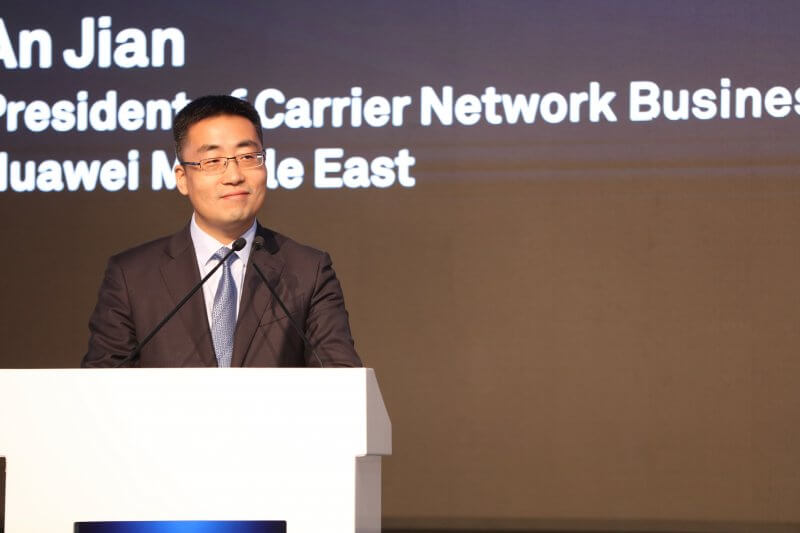 An Jian, Huawei Middle East