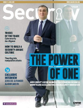 Security Advisor Middle East | April 2019 | Issue 37 Cover