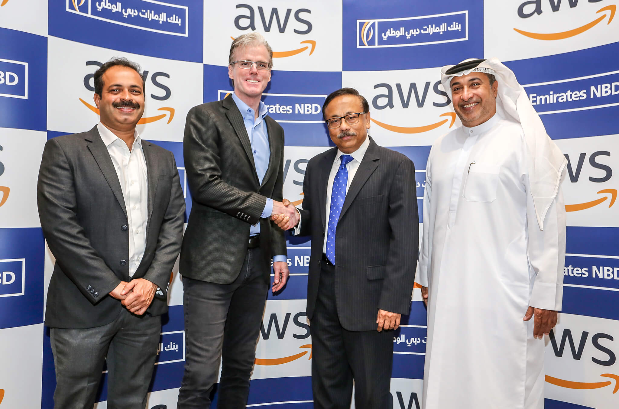 Emirates NBD parters with AWS | TahawulTech com