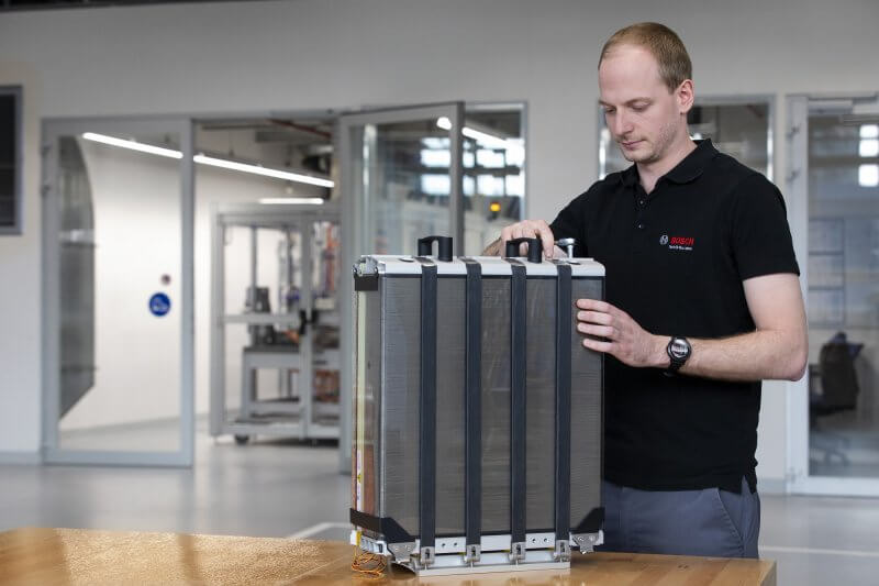 Bosch, fuel cell, powercell