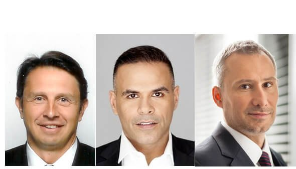 Francesco Serra, Georges Tannous and Jakub Kozsak from Genetec