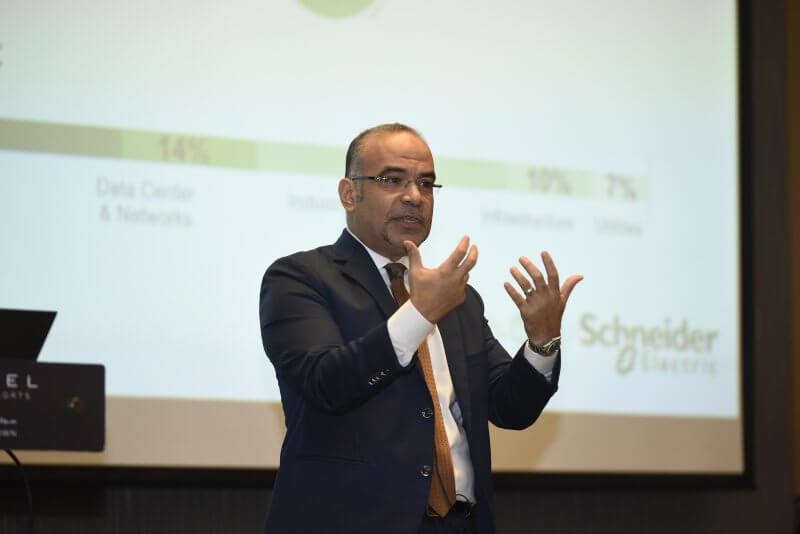 Ahmed Khashan, Schneider Electric