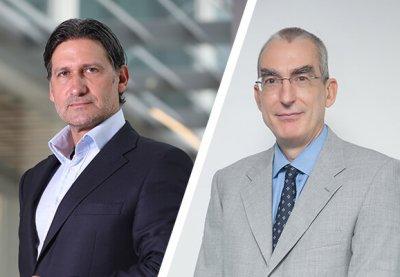 Dr Fabio Fontana and Lorenzo Gonzales, HPE