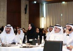 H.E. Younus Al Nasser, Assistant Director General, Smart Dubai Office and CEO, Dubai Data Establishment, with H.E. Dr. Aisha Bin Bishr, Director General, Smart Dubai