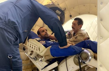 Photo credit: WAM, emirati astronaut