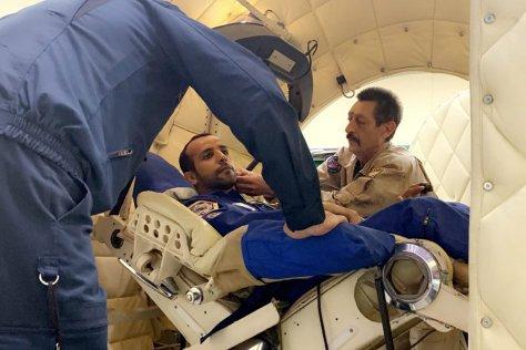 Photo credit: WAM, emirati astronaut