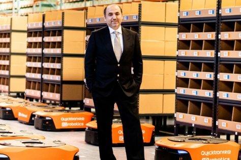 Fadi Amoudi, IQ Fulfillment, robotic fulfillment centre