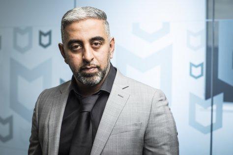 Raj Samani, McAfee, ransomware
