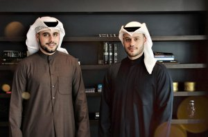 (LtoR) Nouri and Athbi Al Enezi, JustClean