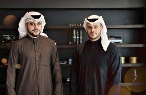 (LtoR) Nouri and Athbi Al Enezi, JustClean