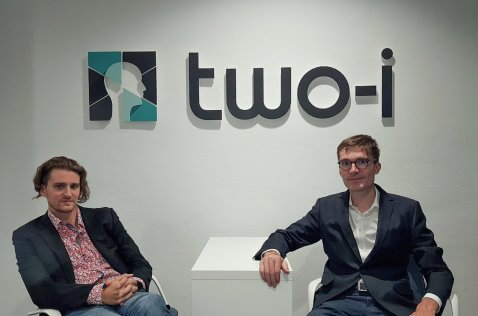 Two-i co-founders Julien Trombini and Guillaume Cazenave