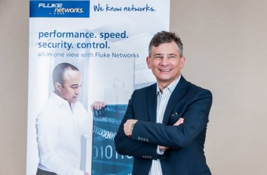 Werner Heeren, Regional Sales Director, Fluke Networks