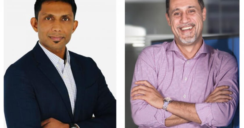 Paddy Viswanathan, C3M and Fadi AbuEkab, SCOPE Middle East