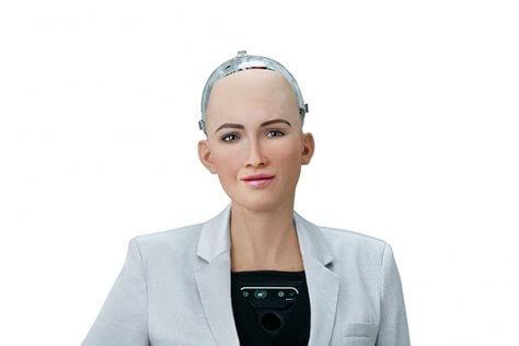Sophia, Saudi Arabia, Robot, Nutanix
