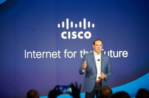 Chuck Robbins, chairman and CEO of Cisco