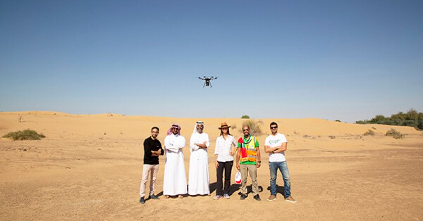 CAFU, specialised drones, climate change