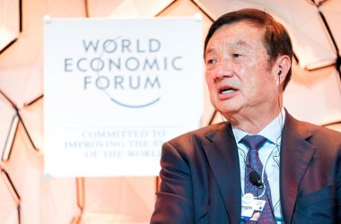 Huawei Founder and CEO, Ren Zhengfei, at Davos 2020