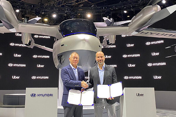 Hyundai, Uber team up to make flying taxis a reality