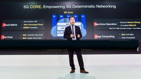 Ma Liang, VP of Huawei Cloud Core Network Marketing