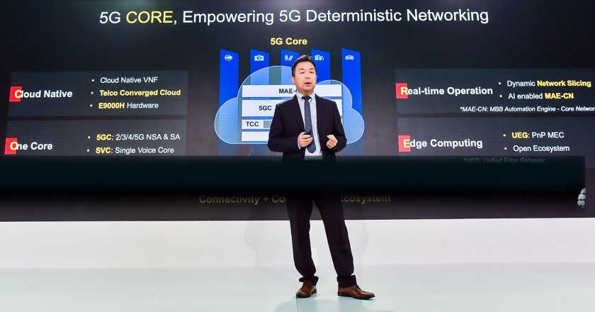 Ma Liang, VP of Huawei Cloud Core Network Marketing