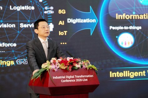 Ma Yue, Vice President, Huawei Enterprise Business Group, discusses the Intelligent World 2030