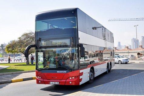 Dubai bus Google Maps