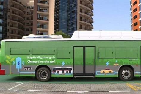 Dubai electric vehicles