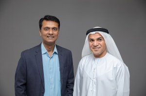 Ranjit Rajan and Dr Saeed K Al Dhaheri