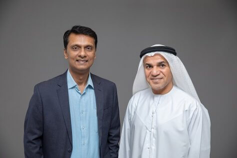 Ranjit Rajan and Dr Saeed K Al Dhaheri, UAE digital