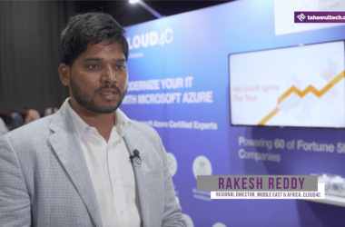 Rakesh Reddy, Regional Director, Middle East & Africa, Cloud4C