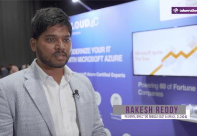 Rakesh Reddy, Regional Director, Middle East & Africa, Cloud4C