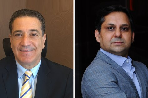 Feras Zeidan, Managing Director, Middle East & Africa at Mitel (L) and Asif Khan, Channel Director, Middle East & Africa at Mitel (R)