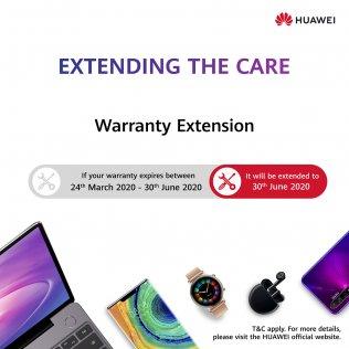 huawei warranty