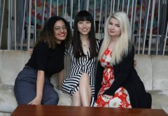 Yasmine Fadel, Ming Hu and Roxana Jula Founders, Women in Tech Dubai
