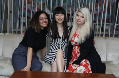 Yasmine Fadel, Ming Hu and Roxana Jula Founders, Women in Tech Dubai