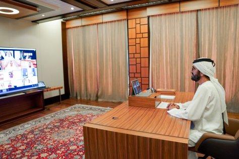 Sheikh Mohammed UAE cabinet