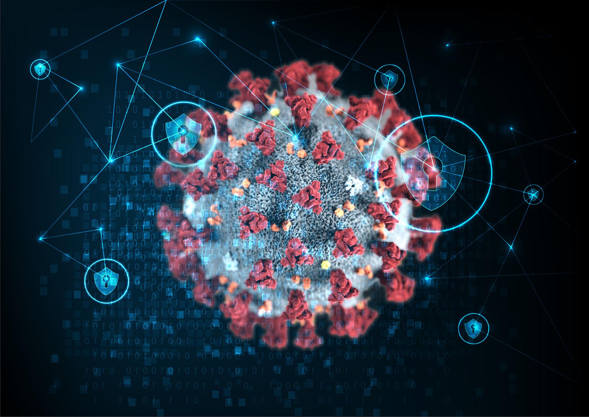 coronavirus network security