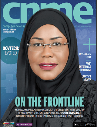 Computer News Middle East | April 2020 Cover | On the frontline