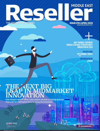 Reseller Middle East | April 2020 Cover | The next big leap in midmarket innovation