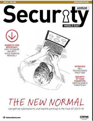 Security Advisor Middle East | April 2020 Cover | The new normal
