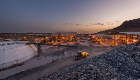 Oracle Saudi mining