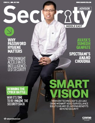 Security Advisor Middle East | June-July 2020 | Magazine Cover
